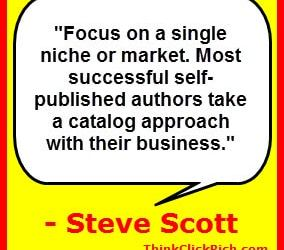 Steve Scott Author Catalog Tactic