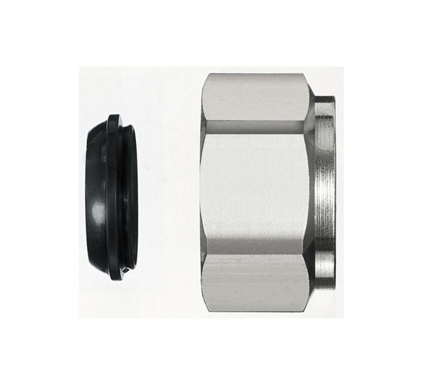 Ρακόρ επινικελωμένης σωλήνας O16mm