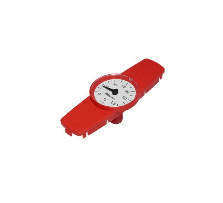 Θερμόμετρο κόκκινο βανών Globo DN40-DN50