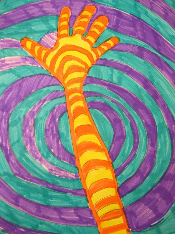 Warm And Cool Color Hands- 2nd Grade Thinkcreateart