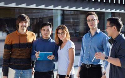 Think Digital Stipendiaten im Interview mit den Stadtwerken München (SWM)