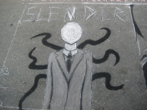 Slender Man Internet Character
