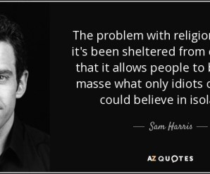 "Atheist Sam Harris, a New ""Mindfulness"" Guru?"