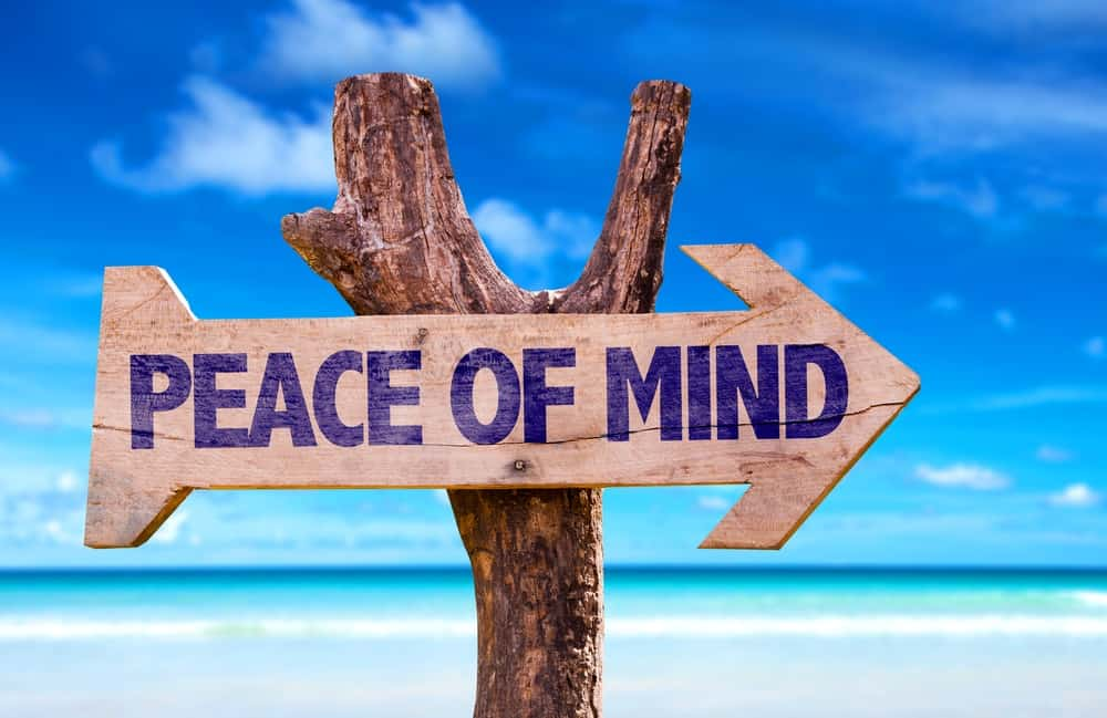 It's challenging to find peace, but I've found some simple ways that could help.