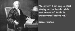 Newton quote