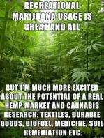 Real reason is hemp