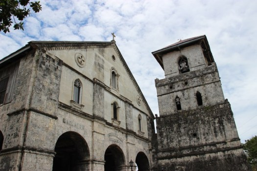 Baclayon Church in Bohol Island