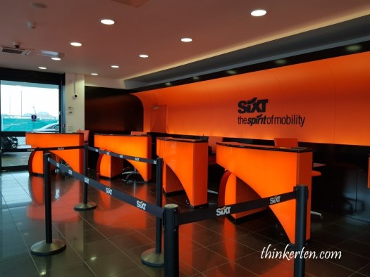 Car rental Sixt England