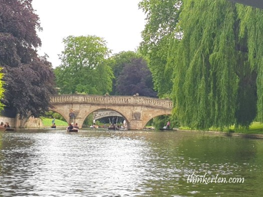Punting in Cambridge UK