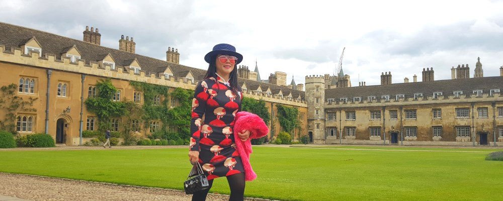 Self Drive in UK : Finding Great People's footsteps in Cambridge University