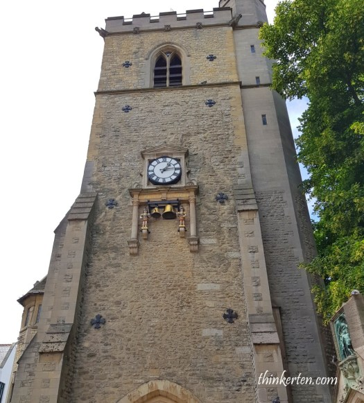 Oxford  Carfax Clock Tower