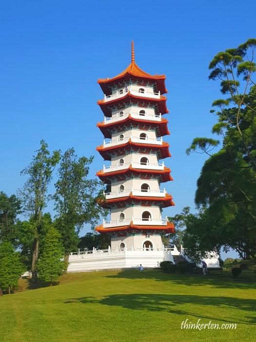7 Storey Pagoda in Singapore Chinese Garden