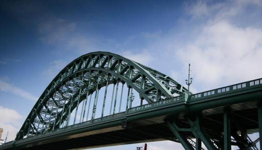 Tyne Bridge Newcastle England