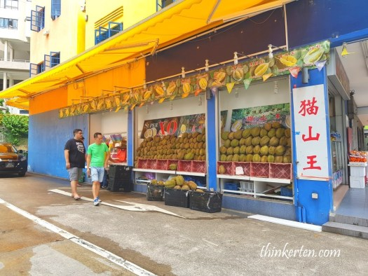 Durian at Balestier