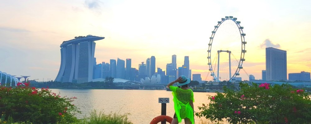 "Soak Yourself at Scenic Tranquility at Garden By The Bay ""East"" Garden Park"