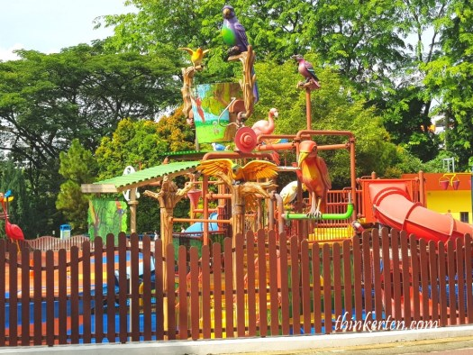 Playground at Jurong Bird Park