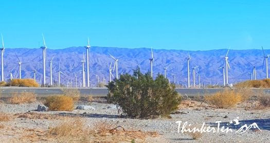Windmills at Palm Springs California
