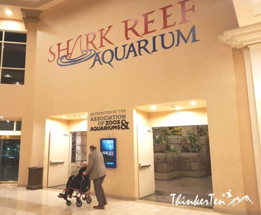 Shark Reef Aquarium at Mandalay Bay Las Vegas