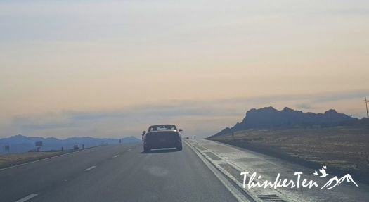 Road trip from Las Vegas to Grand Canyon West Rim