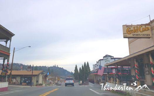 Mariposa town