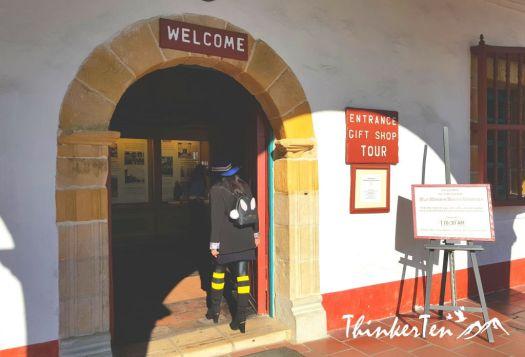Old Mission Santa Barbara, California USA