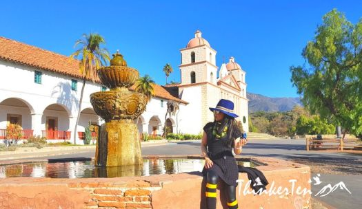 Old Mission Santa Barbara, California USA