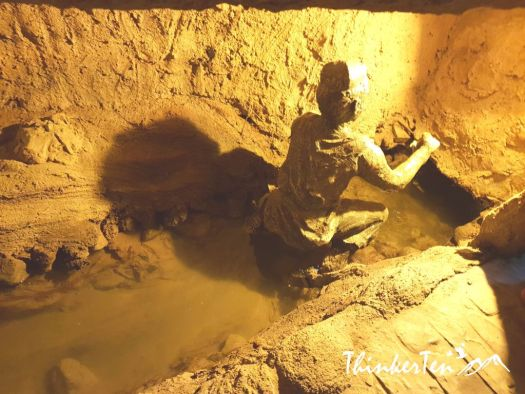Silk Road China Xinjiang : Karez Well at Turpan -2000 Years Old Water System