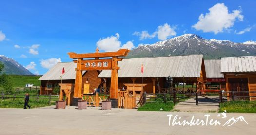 China,Northern Xinjiang : Finding Genghis Khan's descendant in Hemu Village