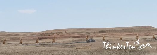 Xinjiang : Urho Ghost City & Karamay Oilfield 新疆魔鬼城 & 克拉玛依油田