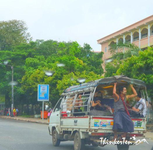 Myanmar : Bago Road Trip - A Brief Stop at Taukkyan War Cemetery