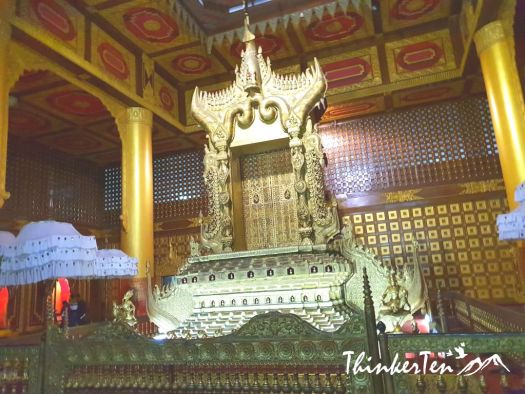 Yangon : Raining outdoor, no problem! Go visit National Museum of Myanmar