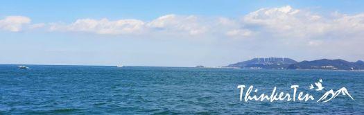 Japan : Whirlpools of Naruto in Tokushima Prefecture, Shikoku
