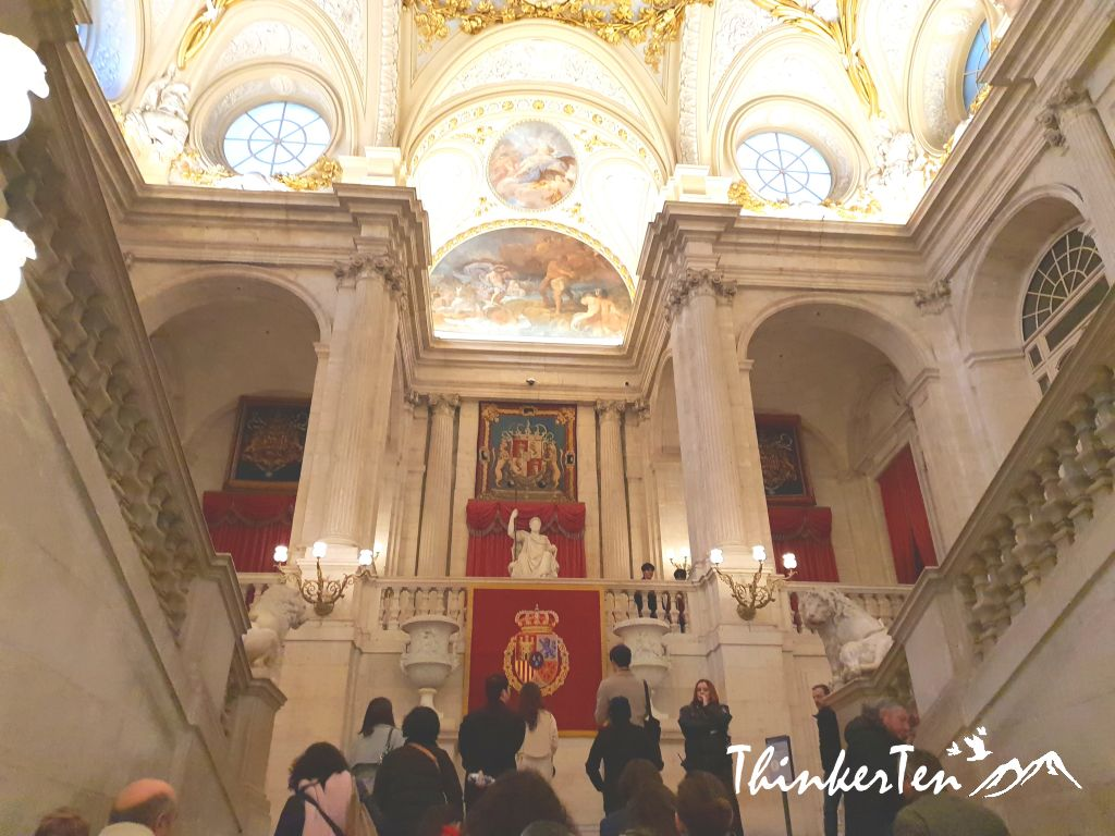 "A must visit in the capital of Spain,The Royal Palace of Madrid ""Palacio Real"""