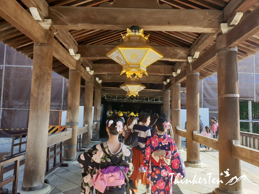 Explore Kyomizu Dera in Kimono is a perfect match for your Kyoto experience!