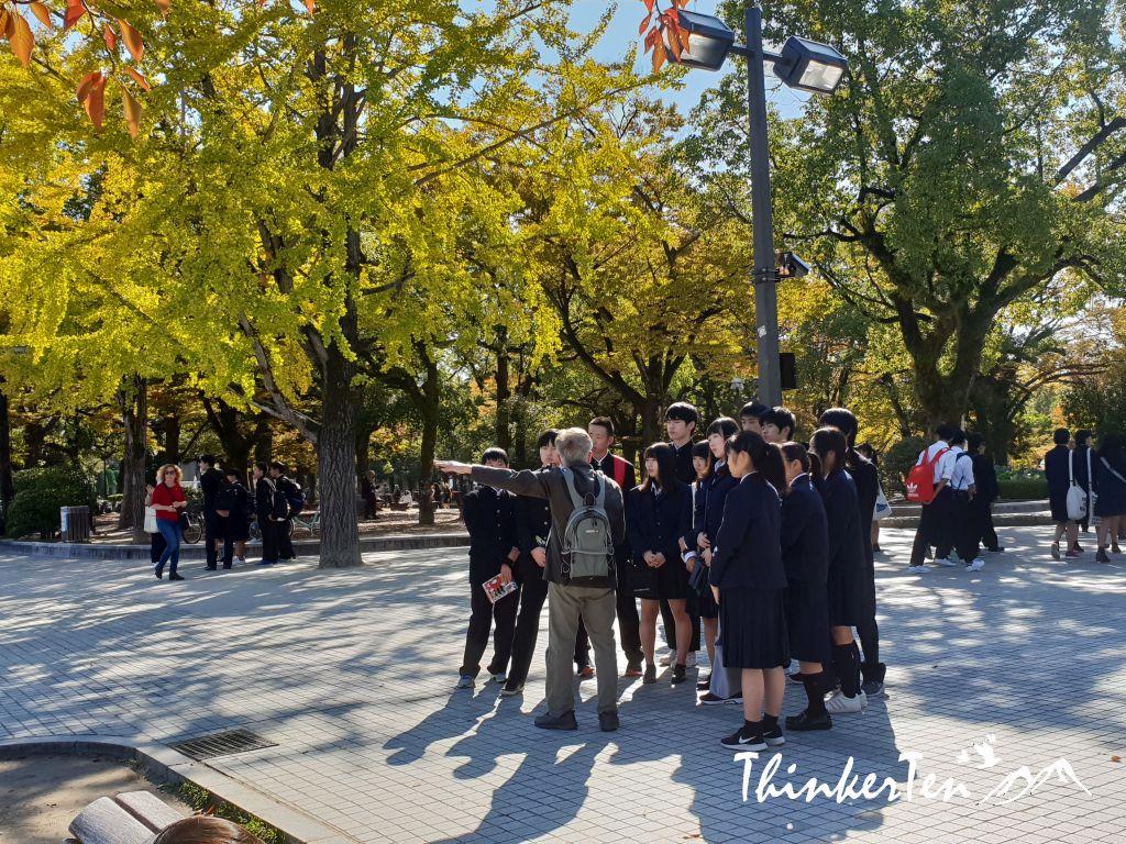 Sobering Experience at Hiroshima Peace Memorial Park