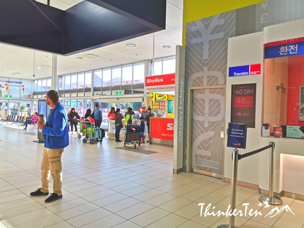 Australia Gold Coast Airport ( OOL ) Review