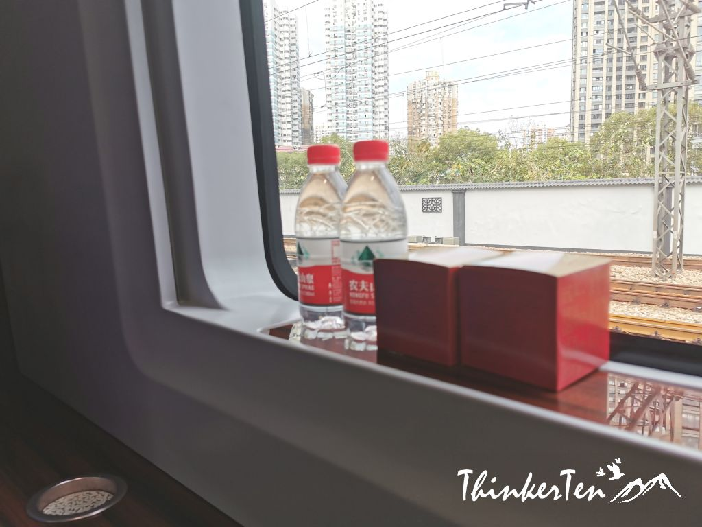 Is it worth it to travel on Business class seat on China High-Speed Train?