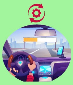 10. Easy updates to in-car technology