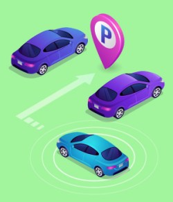 11. State-of-the-art electronics including accident avoidance, automatic parking, etc.