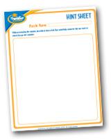 Brainteasers - Hint Sheet