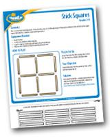 Brainteasers - Stick Squares