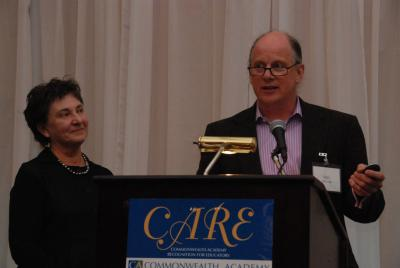 Andrea and Bill honored at CARE Awards