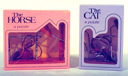 Cat and Horse puzzles