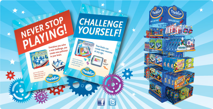 Just one example of a ThinkFun merchandise display!