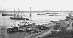 Halifax Harbour WWI