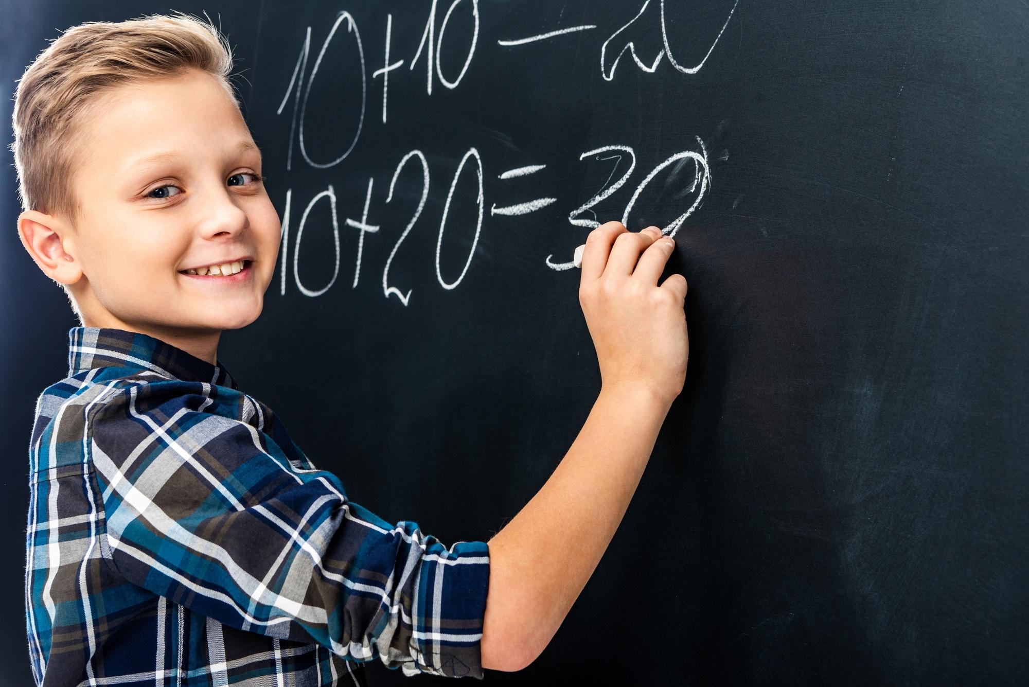 8th Grade Math Class