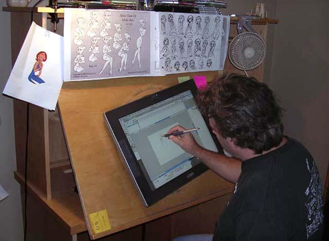 Geek Stuff  New and improved animation desk  Thinking Animation