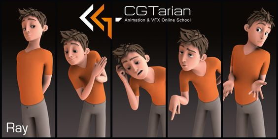 CGTarian has Offered their Ray Rig for Free  Thinking Animation