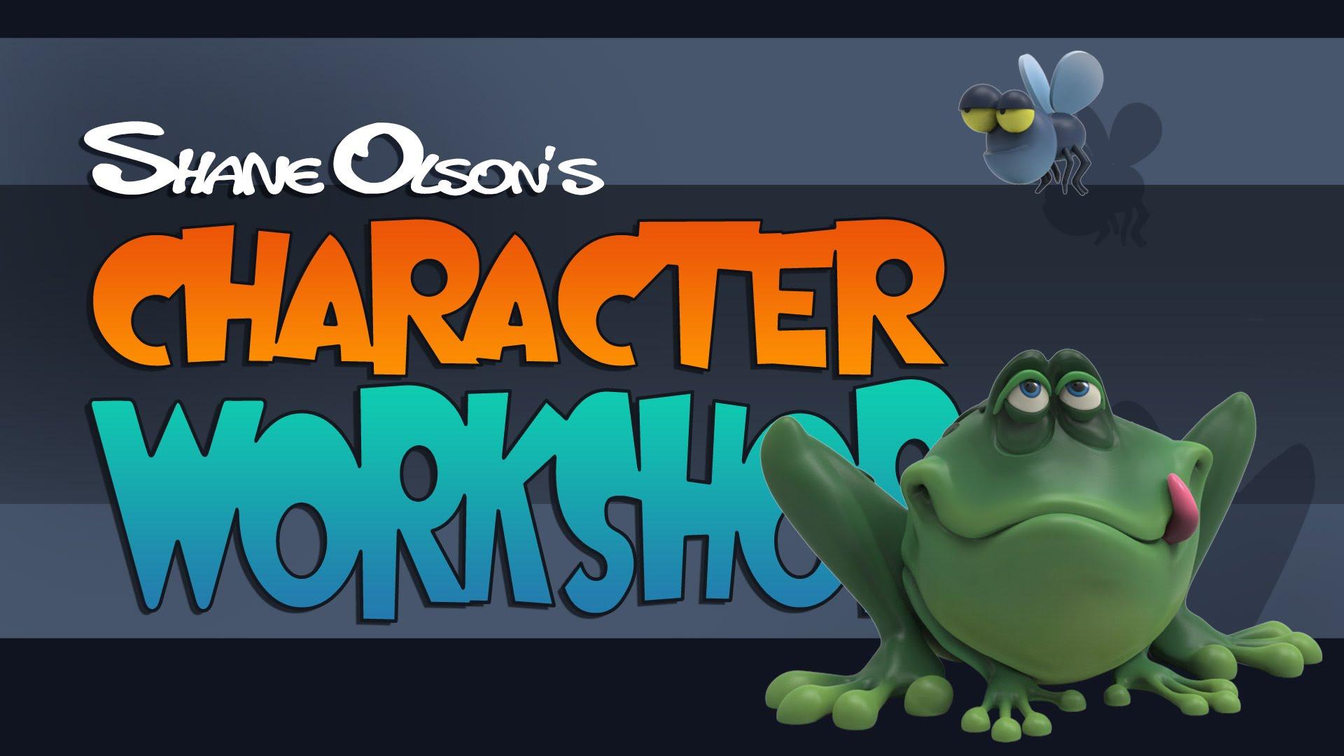 Shane Olson  Beginner Zbrush Training Creating a Simple Cartoon Character  Thinking Animation