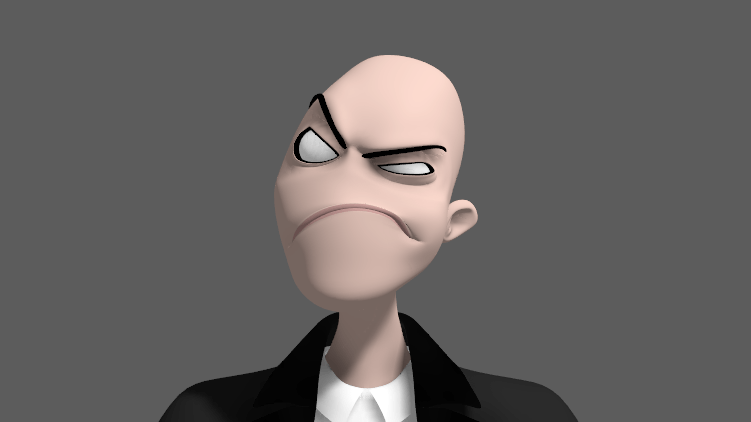 Grey Matter Gary – New Free Maya Rig – Thinking Animation